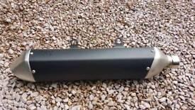Ktm tail pipe/silencer