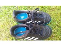 Boy's football trainers size 12 jnr, Adidas. VGC hardly worn as outgrown.