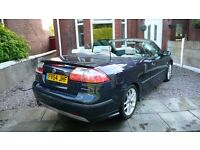 Saab 9-3 Aero Convertible Manual FSH Top of the range 210BHP Best colour combination