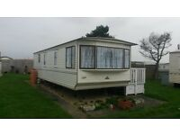 Caravan to rent , Golden palm resort, Chapel St Leonards, 4 berth, close to shops, pubs, food