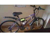 Girls/ladies 26inch mountain bike