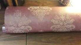3 Full rolls of wallpaper