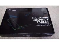 Ugee HK1060 10*6 Inch Big Active Graphic Tablet Digital Drawing Tablet (Black)