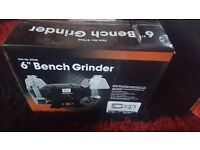 "Sip 6"" bench grinder brandnew boxed"