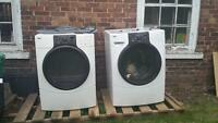 Free stackable washer and dryer