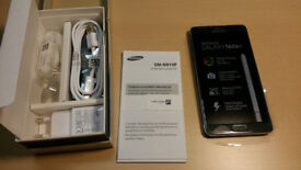 Samsung Galaxy Note 4 in a Box with all the Accessories