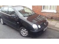 £1,100 VW Polo 1.2 5dr WITH MANY NEW PARTS plus 12 mths MOT