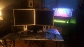 """2 Great Condition 19"""" DELL Monitors"""