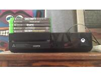 Xbox One & 5 games