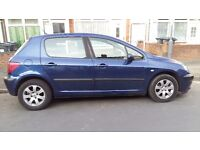 peugeot 307 2.0 hdi diesel 1 year mot very good condition