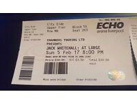 Jack whitehall tickets for 5th feb sunday in echo arena liverpool still available 15.02 5th feb