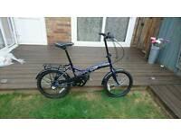 Dawes Diamond Folding Bike, Virtually New.Cost £380,ultra light weight.like Brompton