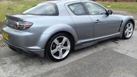 2005 MAZDA RX- 8 PETROL 5DR LOW MILEAGE ((Heated Leather Seats)) FULL YEAR MOT EXCELENT CONDITION