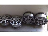 Mazda MX5 Mk1 Alloy wheels