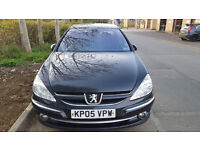 2005 Peugeot 607 2.2 HDi Facelift BLACK - New Discs / Pads - Service History
