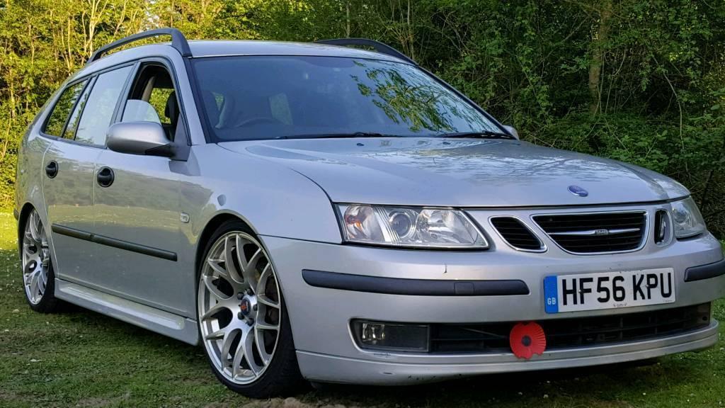 Slammed Saab 9 3 Ttdi