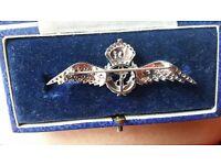 14ct gold RAF (Rare) brootch