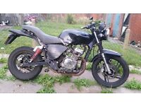 2009 AJS NAC 12 125cc Motorbike *ONLY 5000 MILES*NO OFFERS! Or Swaps!