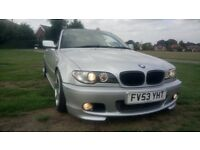 BMW 318i M sport convertible, manual, many extras, may swap?