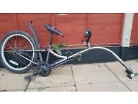 "Adventure Foldable F1 Tag-along Bike. Fully Working With Clamp and clips 20"" wheels"