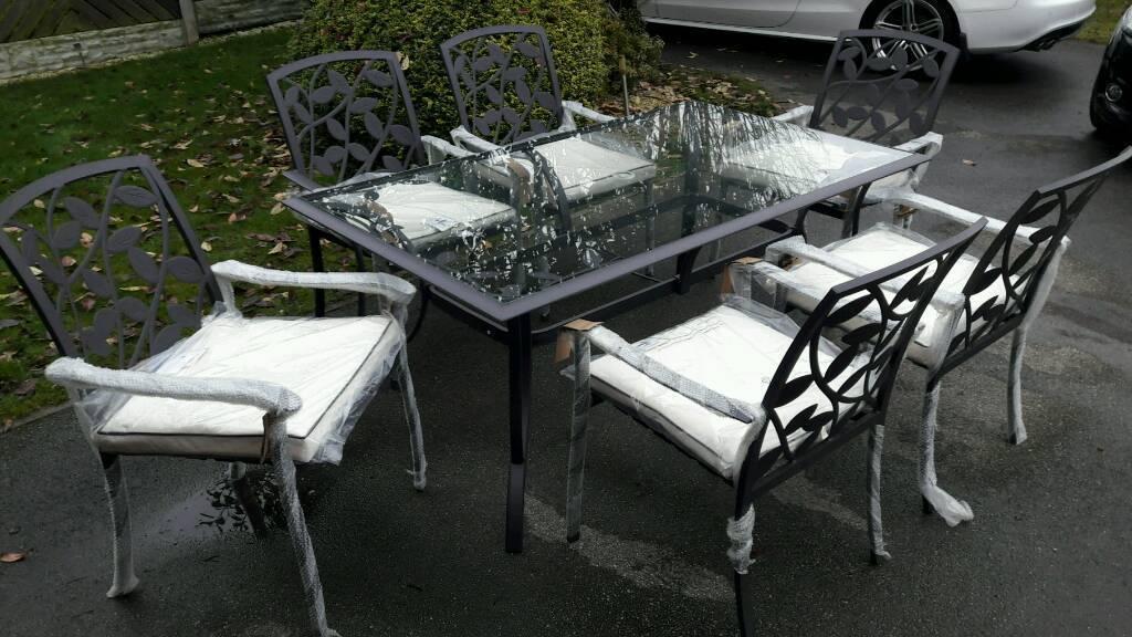 brand new lucca garden furniture in barnsley south. Black Bedroom Furniture Sets. Home Design Ideas
