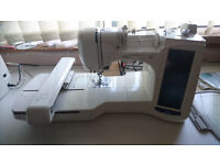 Brother super Galaxie 3000 embroidery machine