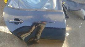 toyota auris 2008 rear door, driver side rear