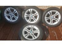 Bmw 320d 16inch wheels and tyres