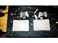 x2 PlayStation consoles