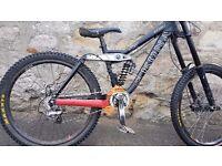 kona stinky downhill bike