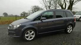 2006 Vauxhall Zafira 1.9cdti 120 7 Seats