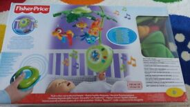 Fisherprice rainforest mobile