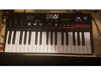 Akai Miniak synthesizer used in great condition