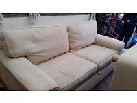 2 high quality 3 seater sofas