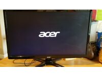 Full HD Monitor Acer 24 inch widescreen TV