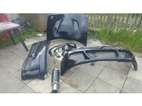 corsa b combat body kit with loads of extras