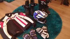 Motorcycle gear various