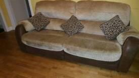 4 seater fabric sofa