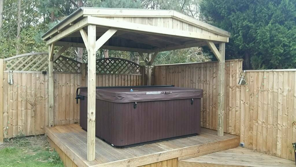 Hot Tub Shelter House 2 7m X 2 7m In Durham County