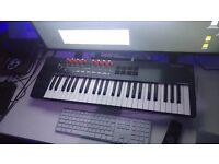 Novation Nocturn 49 key USB midi keyboard