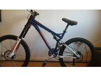 full suspension moutian bike specialized