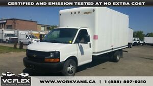 2012 Chevrolet Express G3500 16Ft x 7Ft Unicell Box V8 Gas