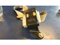 HONDA ACCORD 2.2 CTDI DIESEL 2005 CREAM INT REAR PASSENGER SEAT BELT COMPLETE