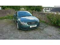 2000 Audi TT 1.8t 225bhp coupe in met green private plate