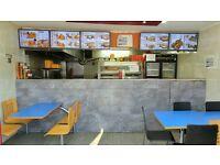 Running Fast food Restaurant on main Busy Plashet Road, Upton Park E13