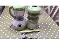 BABYMOOV NUTRIBABY SEAMER/ FOOD PREP WEANING IMMACULATE CONDITION