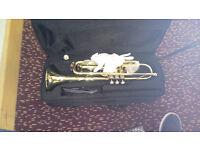 Brass trumpet. Excelent Condition