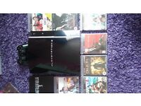 Ps3 console, games and controller