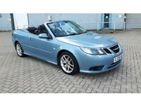 SAAB 9-3 VECTOR 1.9 TID DIESEL CONVERTIBLE 2009.MANUAL GEARS.