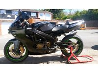 KAWASAKI ZX6R 1999 G2 STEALTH BLACK LOADS OF UPGRADES EXCELLENT CONDITION